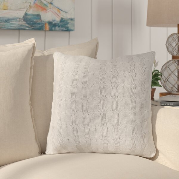 Gardiner 100% Cotton Throw Pillow by Longshore Tides